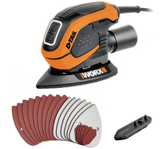 Buy Worx Detail Sander- 55W at Argos.co.uk - Your Online Shop for Sanders and planers, DIY power tools, DIY tools and power tools, Home and garden.