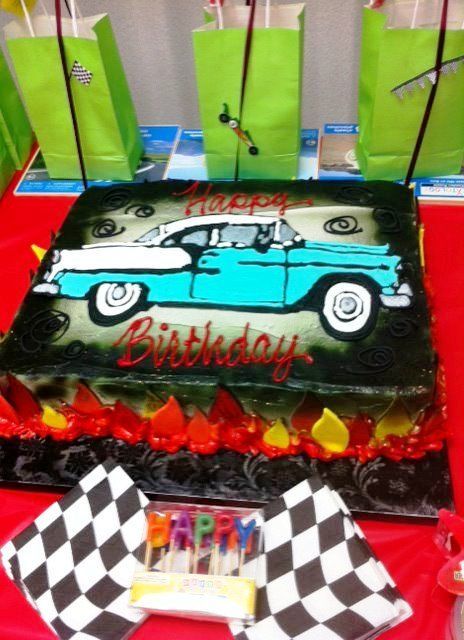 1955 Chevy Birthday Cake Crazy Scary Amp Fun Pictures