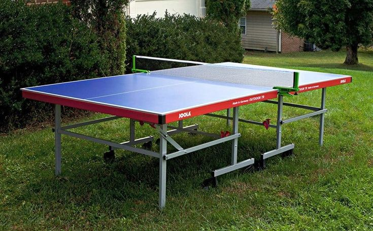 Best Outdoor Ping Pong Tables (Our Top 6 Choices!)