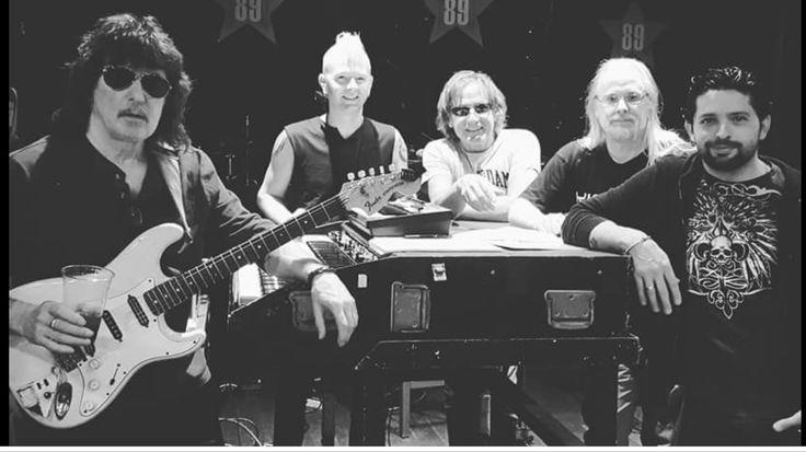 Ritchie Blackmore's Rainbow rehearsal 2017