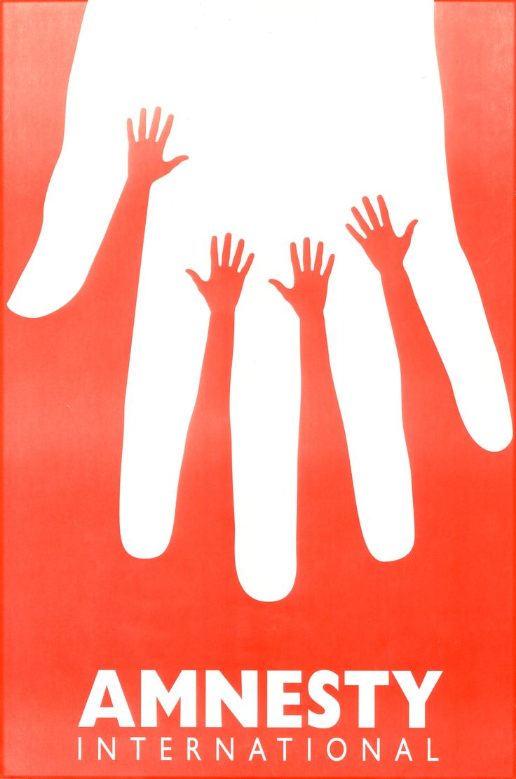 Hands Illusion #amnesty #solidarity #humanity