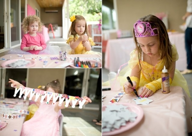 princess party activity