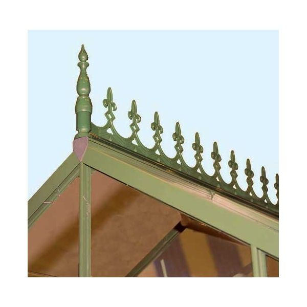 greenhouse roof ridge   Home › Eden › Eden Roof Ridge Cresting With Green or Anthracite ...