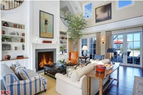 Howie Mandel's Cape Cod-Style Home For Sale in Malibu great room