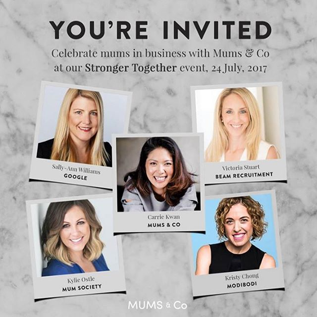 Meet @modibodi founder Kristy Chong! ⠀ @mums.and.co is bringing together a panel of amazing talent to #CelebrateWomenInBusiness at their #StrongerTogether event and I have been invited to join them! Also on the panel will be @mumsociety Kylie Ostle and Mums & Co founder @carriekkwan. Come along for insights, networking and more!  Childcare on site, of course! ⠀ ⠀ #mumpreneur #modibodi #workfromhome#mumsthatwork#sydneymums #entrepreneur#womensupportingwomen…