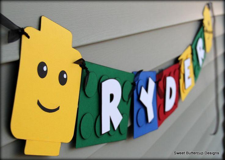 lego birthday banners - Google Search