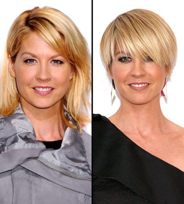 Celebs Who Chopped Off Their Hair Kurzhaarschnitte Kurzhaarfrisuren Haarschnitt