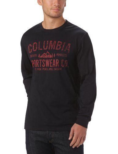 Intéressé par les vêtements de randonnée ? Profitez de nos promotions homme de -20% à -50%*. Visitez également notre boutique Randonnée et Camping.  Columbia T-Shirt manches longues homme Noir S Columbia, http://www.amazon.fr/dp/B008LRGYGI/ref=cm_sw_r_pi_dp_4iL7rb1BW22HR