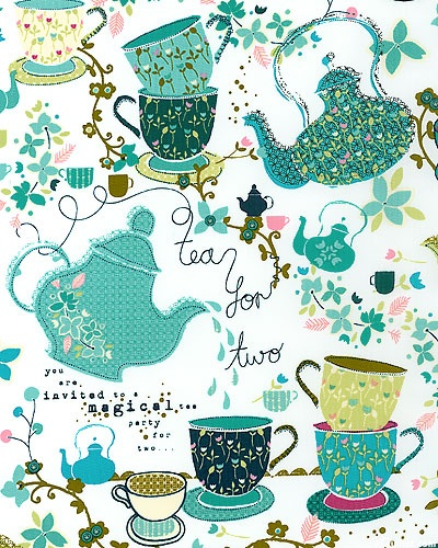 Tiana's Tea for Two - Teal