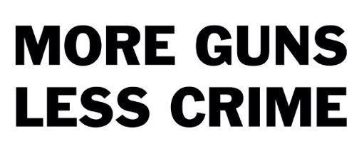 More jobs less crimes