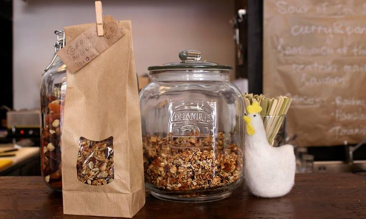 Homemade lavender granola served with maple syrup and greek yoghurt: #Peck47 - Urban Hypsteria