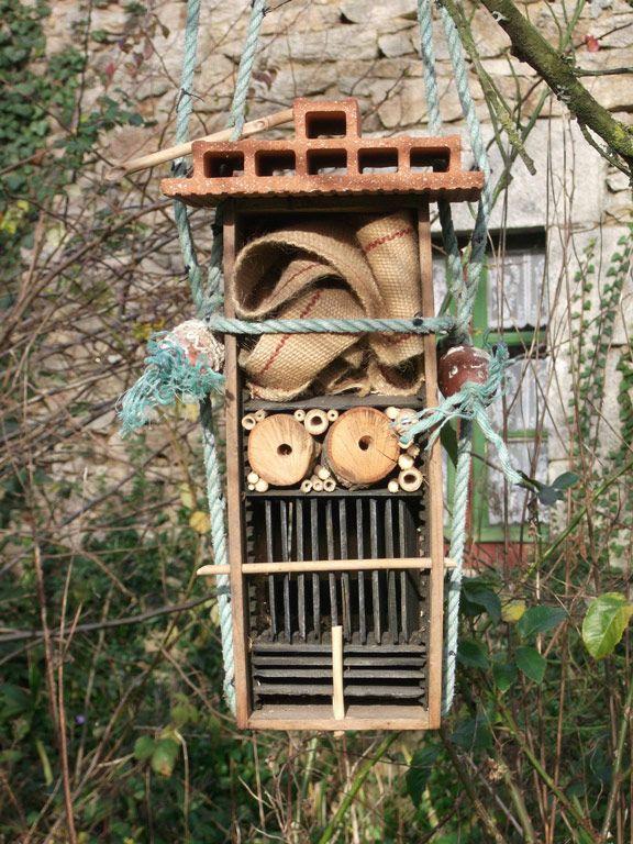 17 meilleures images propos de insecte sur pinterest nature maison et recherche - Hotel a insectes nature et decouverte ...