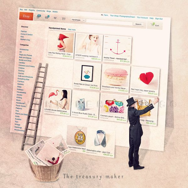 Treasury list - The treasury maker - Etsy front page - Fine Art Photography Print 6x6 (15x15cm). €13,00, via Etsy.
