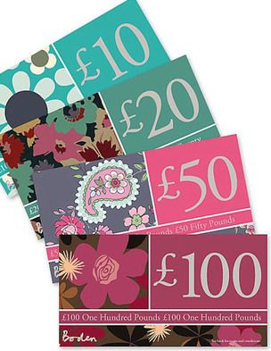 I've spotted this @BodenClothing Gift Voucher