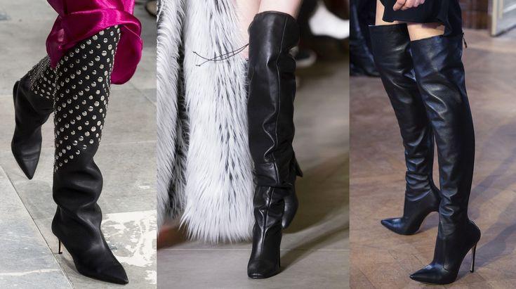 Le scarpe autunno inverno 2019-2020 sono adrenalina pura con tacchi vertiginosi, kitten heel e suole combat