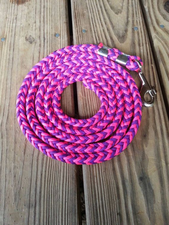 Horse Lead Rope by KFallonCreations on Etsy