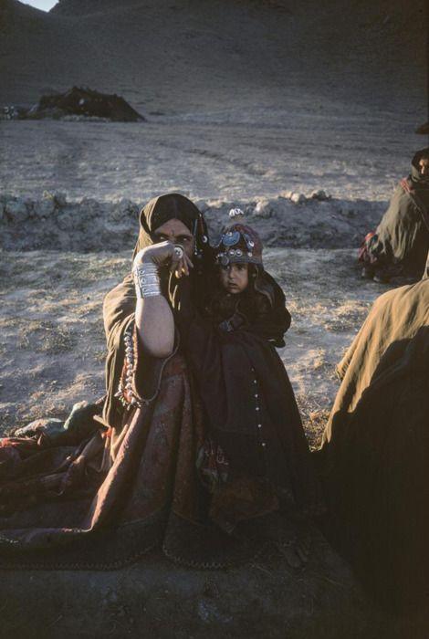 Eve Arnold, Nomads, Afghanistan, 1969   (Source: flosvitae, via spellandthegypsycollective)