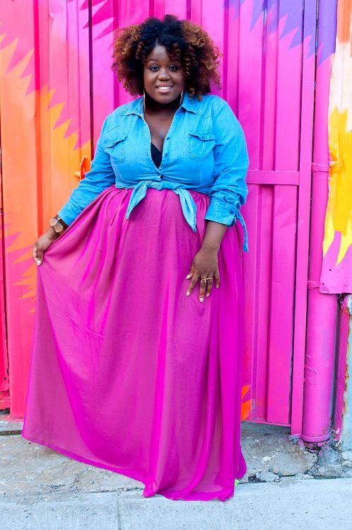ONTHEQTRAIN: Summer Fun With This Reversible Maxi Skirt!