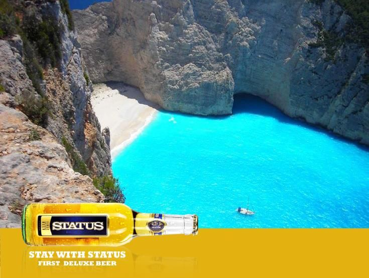 Enjoy your summer in Greece with the taste of the sunshine. Discover the magic in www.statusbeer.gr