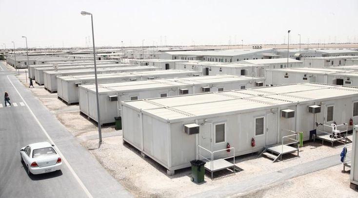 Edificio de modulares / prefabricado / de acero / estructura metálica - MESSIAD INDUSTRIAL CITY - QATAR - DORCE Prefabricated Building & Construction Industry Trade Inc.