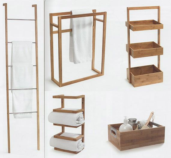 bathroom towel hangers ideas | wooden towel rails and wood bath towel racks at emporium indonesia ...