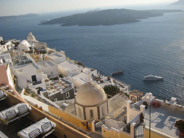 Santorini Grecia  Fira