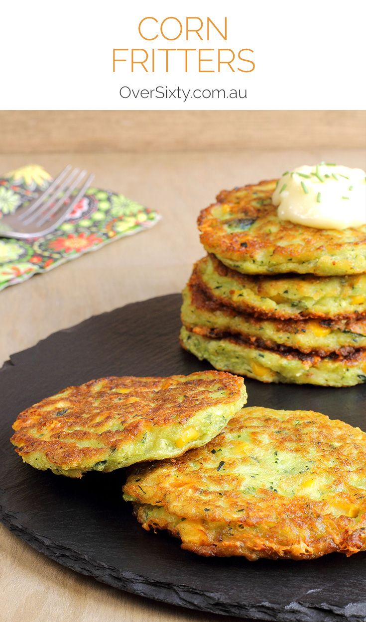 Corn Fritters - this simple recipe will delight foodies of any age. Whip these up for a delicious, easy breakfast.