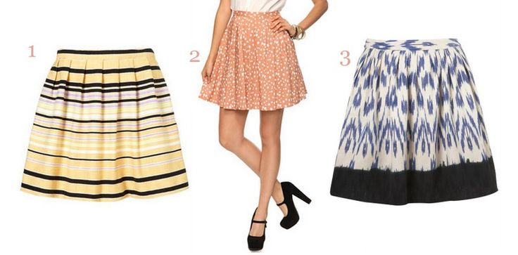 High Waisted Skirts: Perfect for hourglass figures