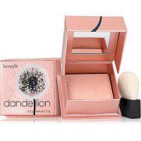 Benefit Cosmetics Dandelion Twinkle Nude-Pink Powder Highlighter & Luminizer