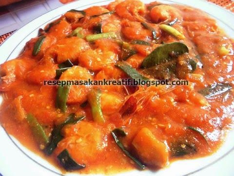 Resep Udang Saus Padang | Resep Masakan Indonesia (Indonesian Food Recipes)