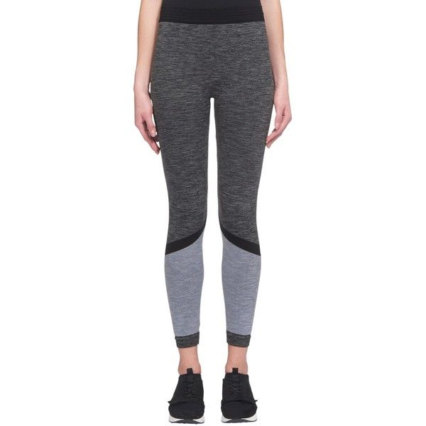 Whistles Elite Workout Stripe Leggings ($70) ❤ liked on Polyvore featuring activewear, activewear pants and bra top