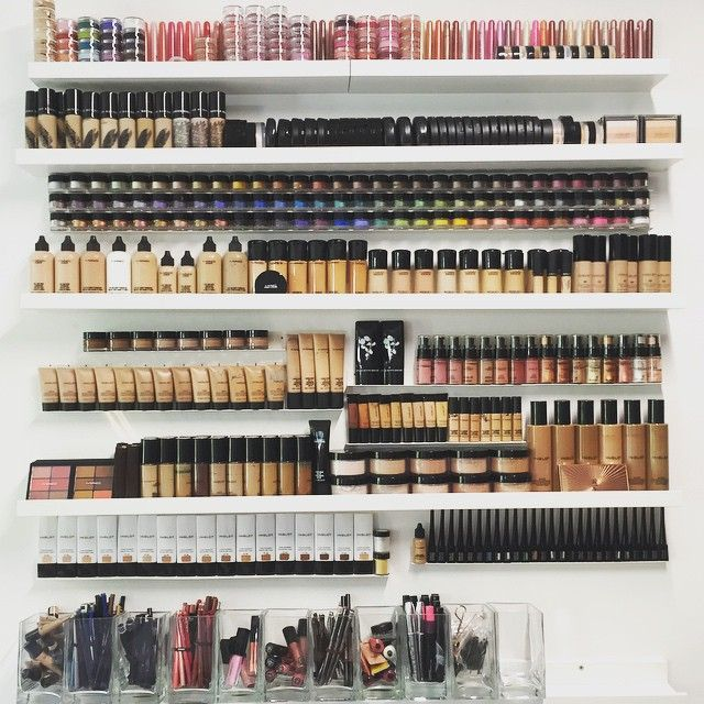pinterest: cant imagine ever owning this much makeup because I hardly where what I have now, but golly it sure looks beautiful makeup products - http://amzn.to/2jywVxP