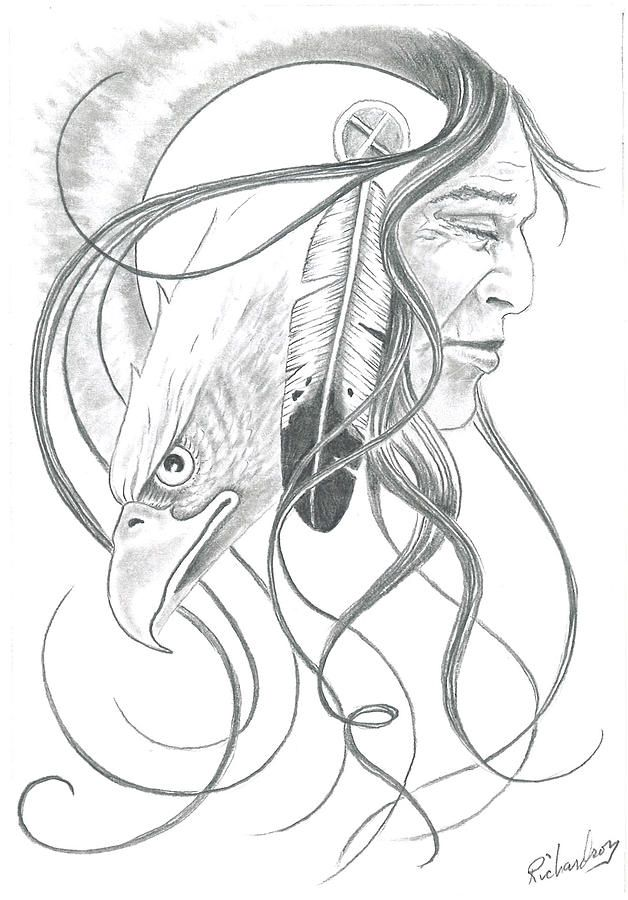 Native American Dream Catcher Drawings | Native American Pencil...                                                                                                                                                                                 More