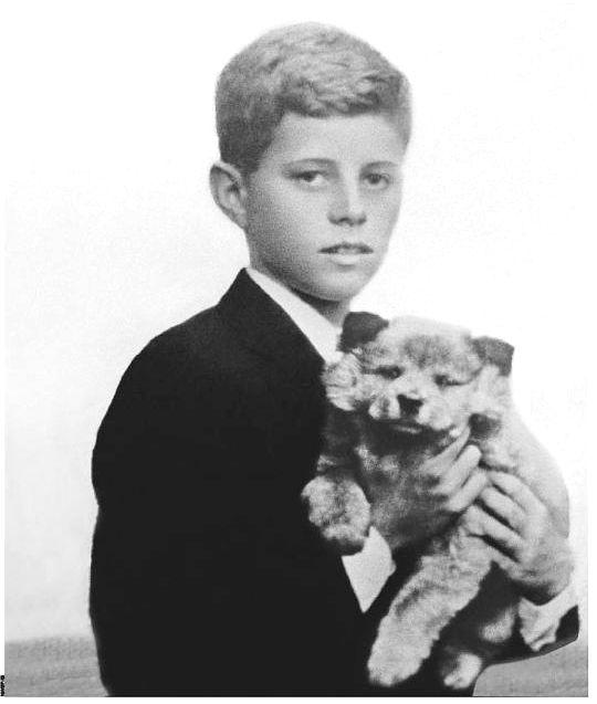 John Fitzgerald Kennedy (May 29, 1917 – November 22, 1963), Sweet Dog ..So Cute ..Calm . ..❁.❤❁.❤❁❤.❁❤❁ http://en.wikipedia.org/wiki/John_F._Kennedy