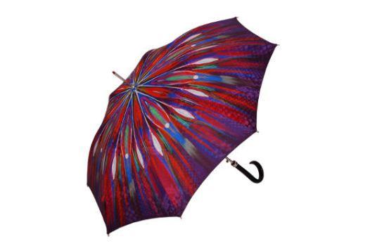 Doppler Regenschirm I Peacock rot I Bild: Sziele PR