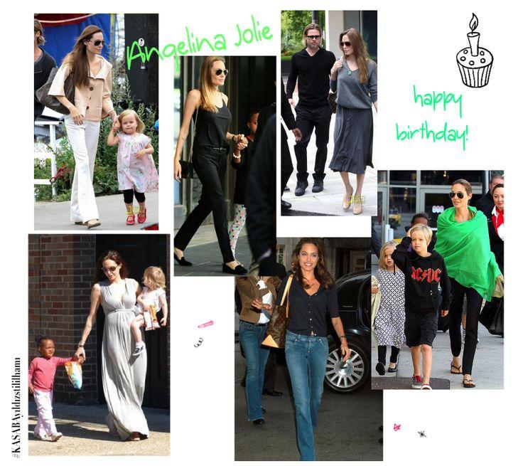 Angelina❗️Doğum günün kutlu olsun    Bugün Angelina Jolie'nin 39. yaş günü şerefine, onun sokak stilini inceliyor, Kendimize stil notları alıyoruz   #AngelinaJolie #Dogumgunu #Birthday #AngelinaJolie39thBirthday #AngelinaJolie39.DoğumGünü #yıldızstili #ünlüstili