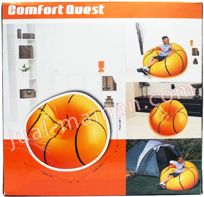 Sofa Angin Motif Bola Basket