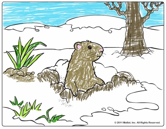 Get Ready For Groundhog Day With Print And Color Pages