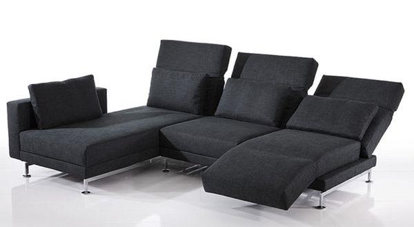 Un divano con funzioni separate indipendenti (per dormire, rilassarsi, guardare la tv…da soli o con amici) #homedecor #design http://paperproject.it/rubriche/design/quello-uomini-vogliono/