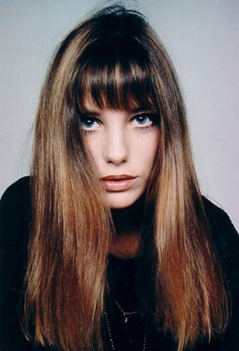 Jane Birkin    my next project-getting my hair this long and copying this style