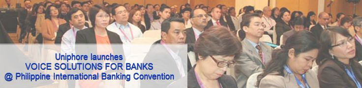 The Asian Banker, which is devoted in organizing the Philippine International Banking Convention (PIBC) in Manila, on 29th August 2014 in which Uniphore is going to participate and launch this year Voice banking in Philippines. Uniphore is displaying their key voice offerings – Voice biometrics, Virtual assistant, Audio Mining and Speech recognition, to unveil its potential to the banking delegates in the region