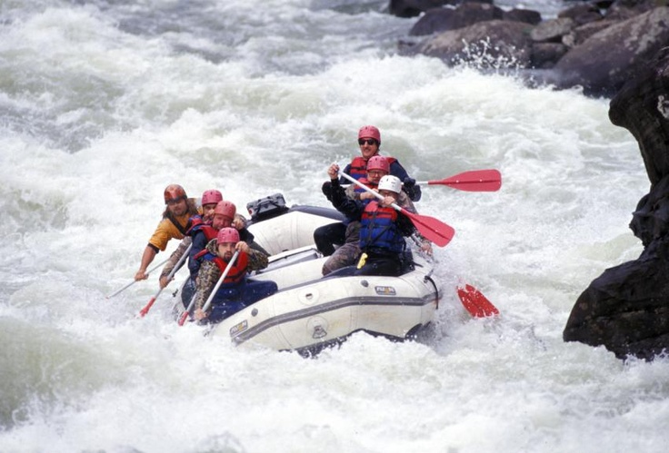 Gauley River Whitewater Rafting -  Roy & I rafted the Gauley years ago - pre kids - it was so much fun!  We keep saying we are going back and taking Sydney & Kelsey.