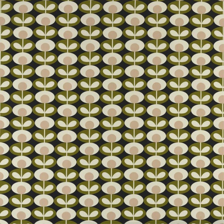 Orla Kiely fabrics now available at Bolt of Cloth! A passion for mid century design and print has informed all aspects of the Orla Kiely product, from the ready