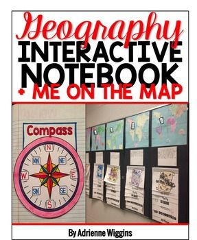 Love doing Me on the Map!!!! Also, they love the INB work :) Geography Interactive Notebook and Me on the Map