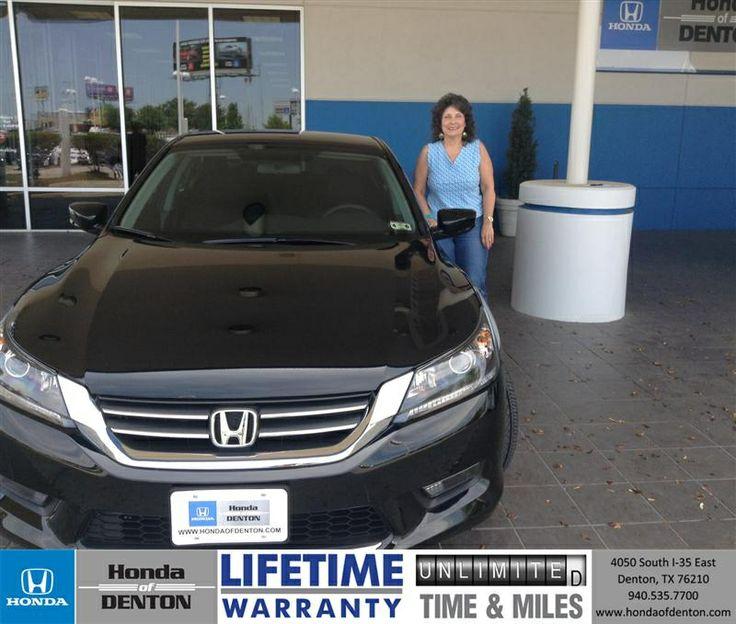 Congratulations to Dennis Marshall on your #Honda purchase from Isaac Salazar at Honda of Denton! #NewCar