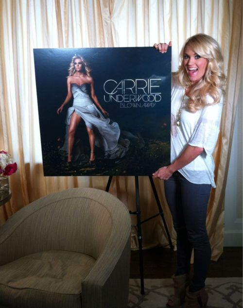 blown away...already heard the album and it's awesome:) Another good one from Carrie!