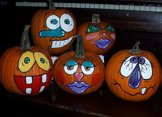 83 best painted pumpkins images on pinterest pumpkin Funny pumpkin painting ideas
