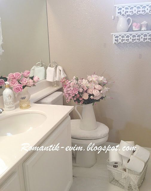 Best Photo Gallery For Website My Shabby Chic Home Romantik Evim Romantik Ev Romantik ev My bathroom