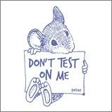 Stop Animal Testing by buying products that are not tested on animals and contain no animal indgredients.