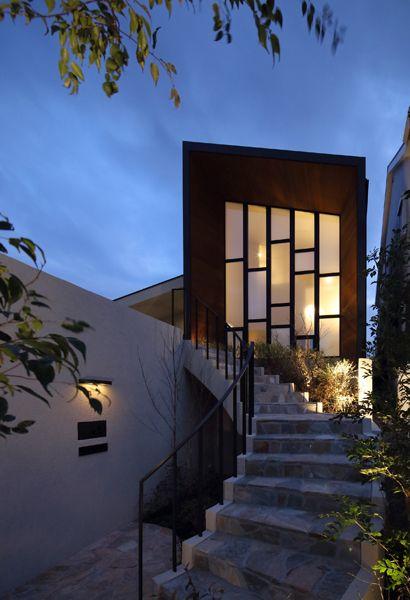 水庭のある家|R階段|アーキッシュギャラリー